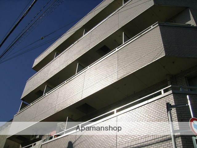 東京都北区、駒込駅徒歩4分の築29年 4階建の賃貸マンション