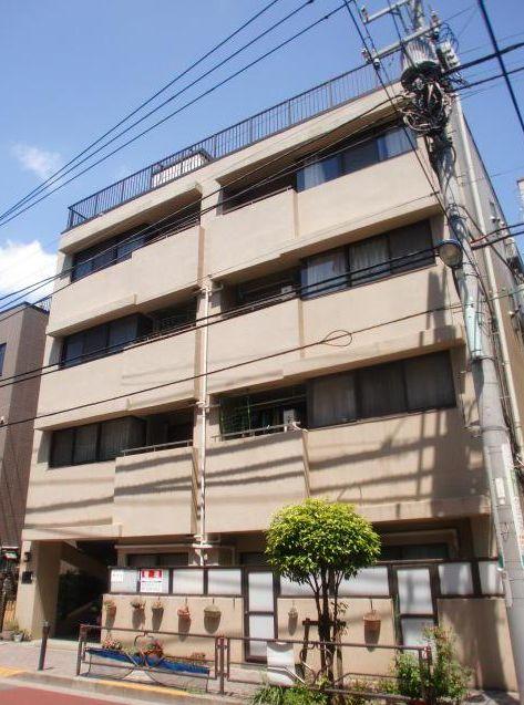 東京都文京区、駒込駅徒歩11分の築27年 4階建の賃貸マンション