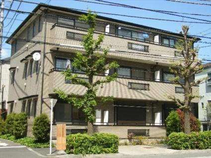 東京都北区、駒込駅徒歩7分の築15年 3階建の賃貸アパート