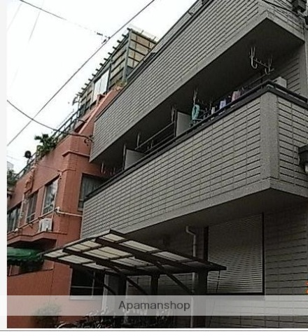 東京都北区、板橋駅徒歩7分の築27年 3階建の賃貸アパート