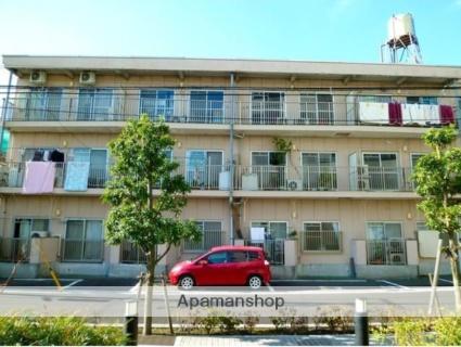東京都世田谷区、用賀駅徒歩13分の築40年 3階建の賃貸マンション