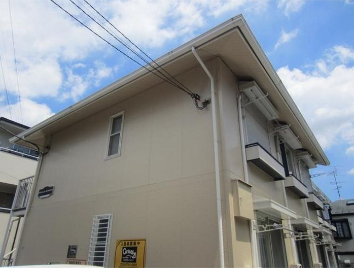 東京都世田谷区、等々力駅徒歩8分の築25年 2階建の賃貸アパート