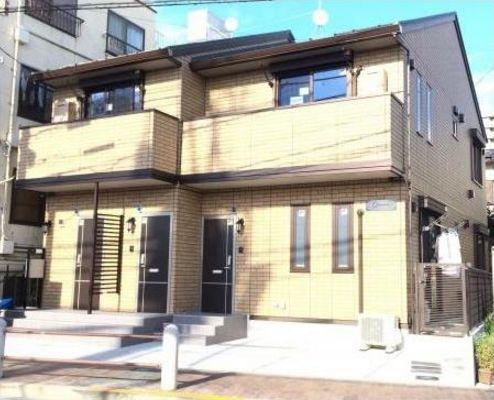東京都世田谷区、桜新町駅徒歩15分の新築 2階建の賃貸アパート