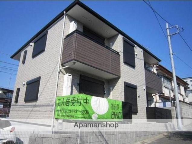 東京都世田谷区、尾山台駅徒歩18分の築2年 2階建の賃貸アパート