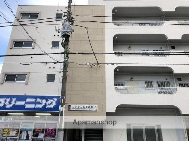 東京都世田谷区、桜新町駅徒歩7分の築43年 4階建の賃貸マンション