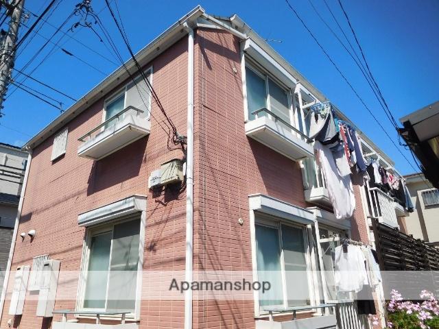 東京都杉並区、阿佐ケ谷駅徒歩15分の築22年 2階建の賃貸アパート
