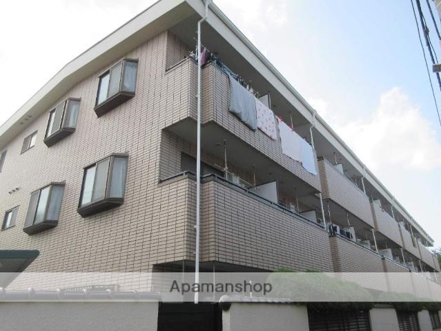 東京都中野区、高円寺駅徒歩12分の築27年 3階建の賃貸アパート