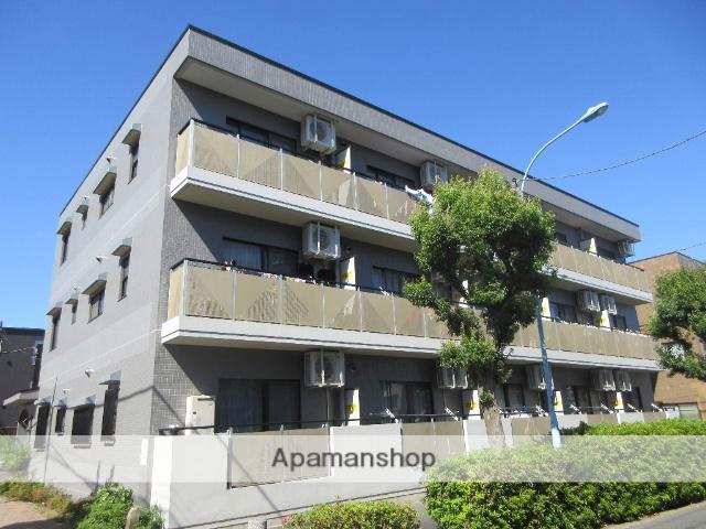 東京都杉並区、高円寺駅徒歩7分の築24年 3階建の賃貸マンション