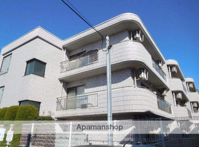 東京都中野区、都立家政駅徒歩14分の築24年 3階建の賃貸マンション