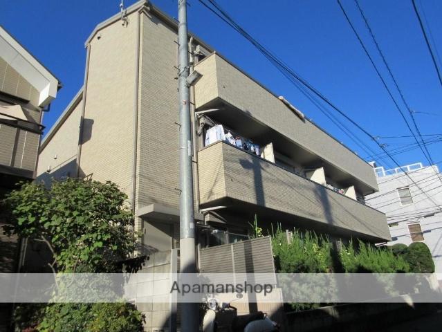 東京都中野区、鷺ノ宮駅徒歩6分の築3年 3階建の賃貸アパート