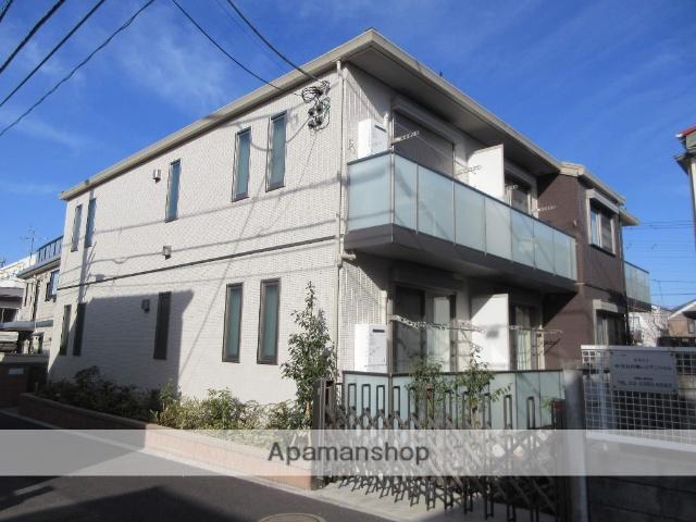東京都杉並区、新中野駅徒歩8分の築1年 2階建の賃貸マンション