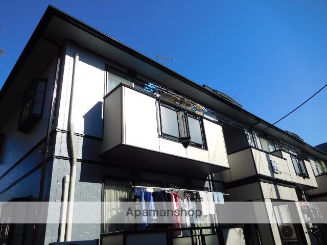 東京都中野区、都立家政駅徒歩18分の築22年 2階建の賃貸アパート