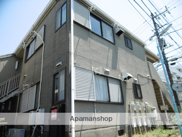 東京都杉並区、高円寺駅徒歩8分の築27年 2階建の賃貸アパート