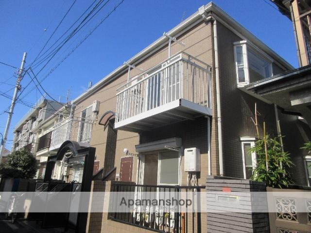 東京都杉並区、高円寺駅徒歩10分の築23年 2階建の賃貸アパート