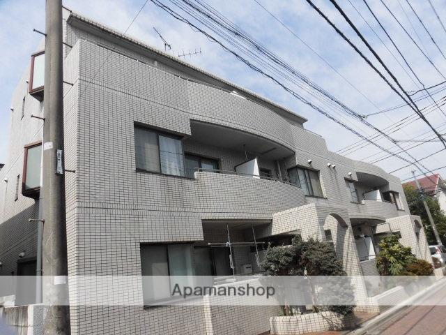 東京都杉並区、高円寺駅徒歩10分の築30年 3階建の賃貸マンション