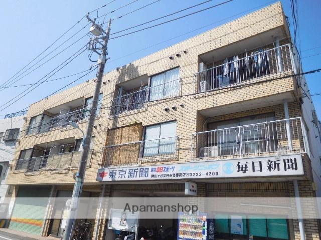 東京都杉並区、阿佐ケ谷駅徒歩13分の築34年 3階建の賃貸マンション
