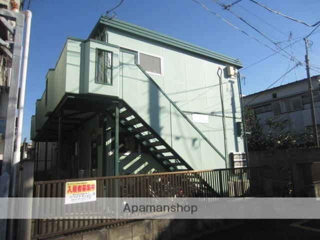 東京都中野区、高円寺駅徒歩25分の築34年 2階建の賃貸アパート