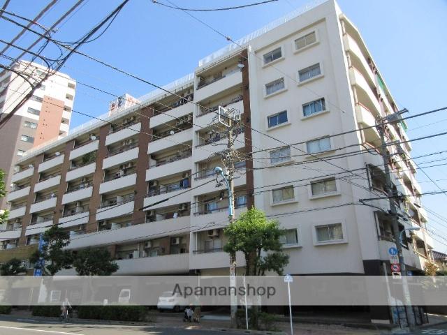 東京都杉並区、高円寺駅徒歩3分の築44年 7階建の賃貸マンション