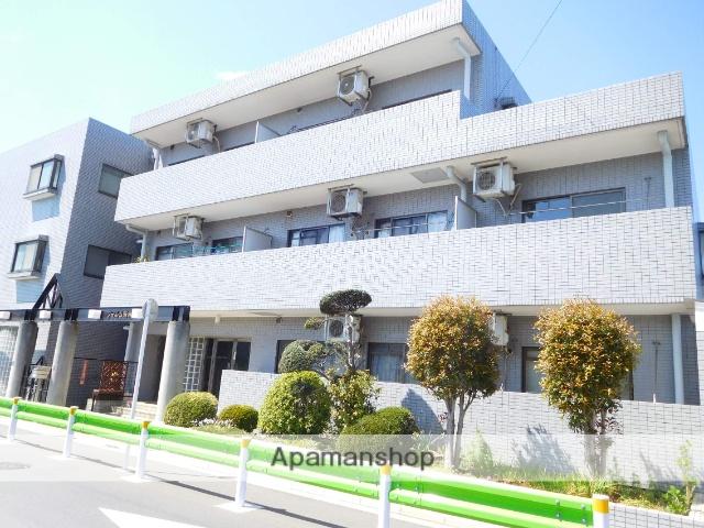 東京都杉並区、下井草駅徒歩5分の築27年 3階建の賃貸マンション