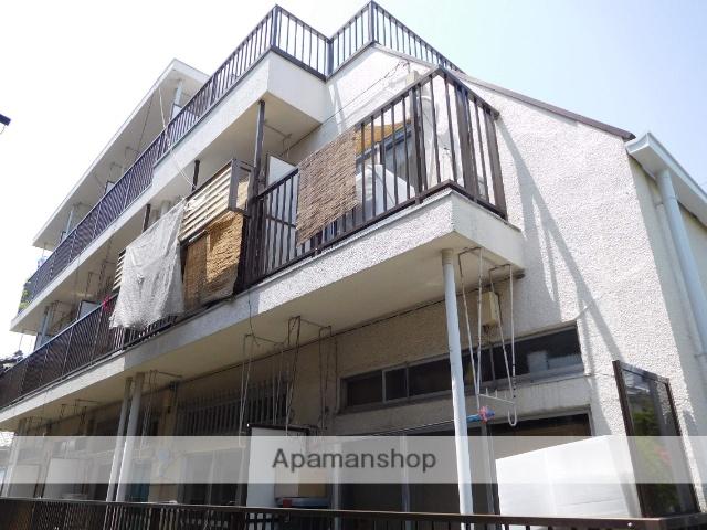 東京都中野区、都立家政駅徒歩12分の築45年 3階建の賃貸マンション