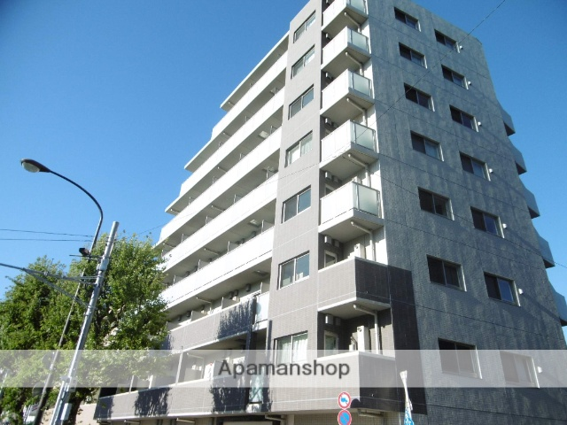 東京都杉並区、高円寺駅徒歩9分の築3年 8階建の賃貸マンション