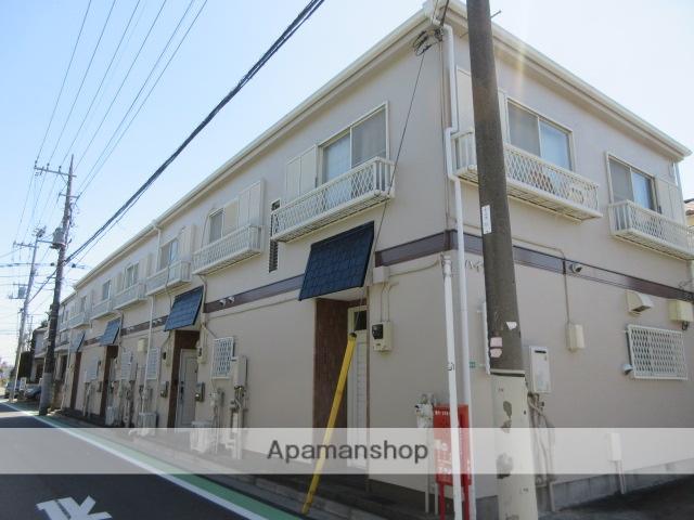 東京都中野区、都立家政駅徒歩15分の築28年 2階建の賃貸テラスハウス