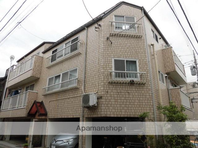 東京都中野区、高円寺駅徒歩7分の築42年 3階建の賃貸アパート