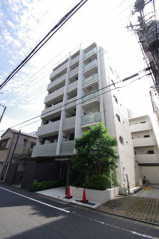 東京都江東区、越中島駅徒歩8分の築7年 8階建の賃貸マンション