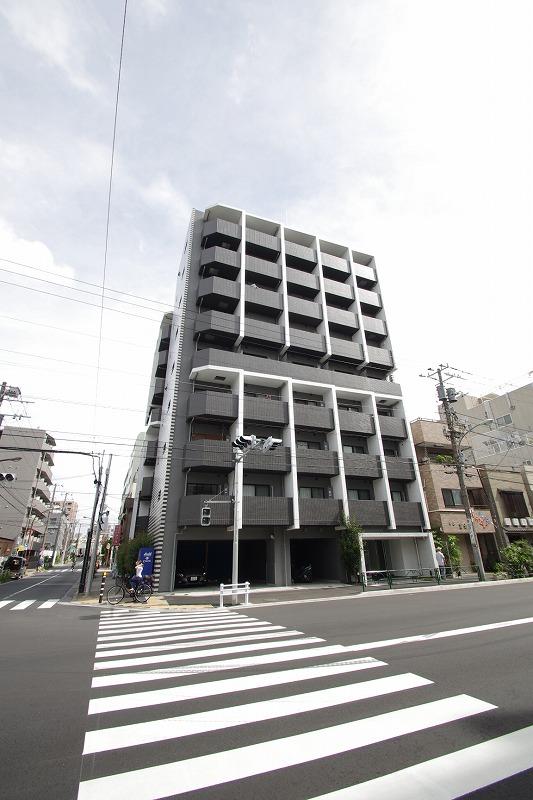 東京都江東区、清澄白河駅徒歩14分の築2年 9階建の賃貸マンション