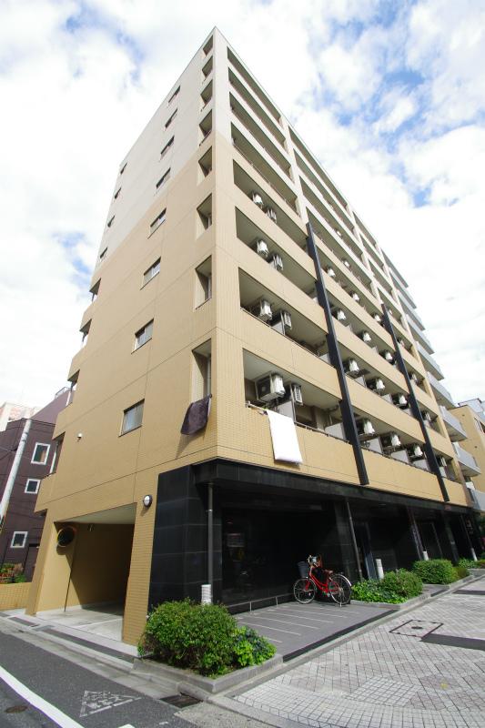東京都墨田区、両国駅徒歩9分の築11年 9階建の賃貸マンション