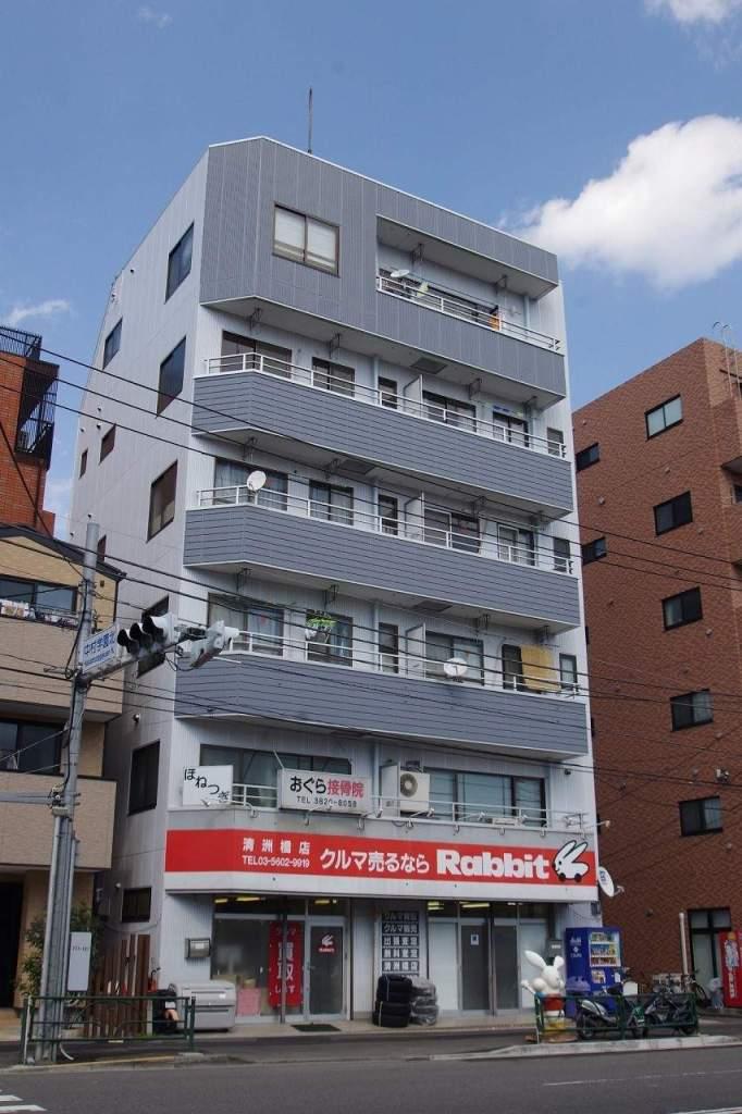 東京都江東区、清澄白河駅徒歩3分の築27年 6階建の賃貸マンション