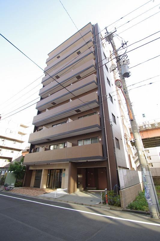 東京都墨田区、両国駅徒歩8分の築2年 9階建の賃貸マンション
