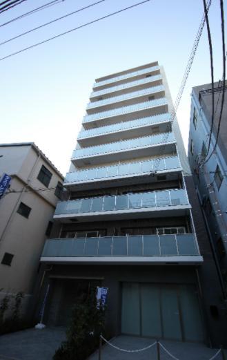 東京都江東区、両国駅徒歩11分の築1年 10階建の賃貸マンション