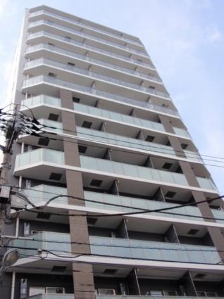 東京都台東区、御徒町駅徒歩3分の築4年 14階建の賃貸マンション