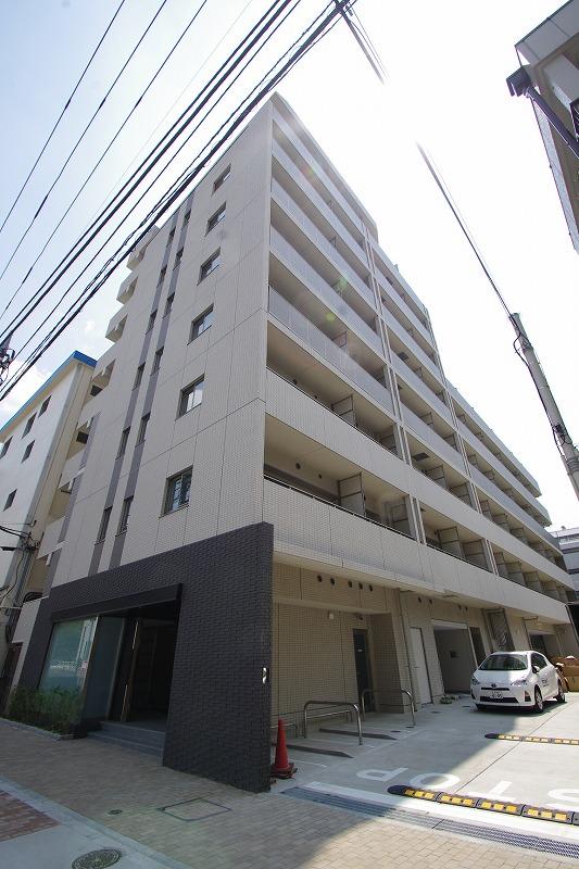 東京都江東区、水天宮前駅徒歩15分の築2年 9階建の賃貸マンション
