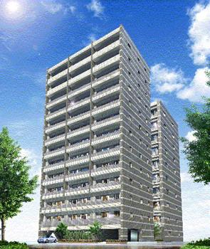 東京都墨田区、錦糸町駅徒歩7分の築12年 13階建の賃貸マンション
