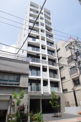 東京都江東区、清澄白河駅徒歩12分の築9年 11階建の賃貸マンション