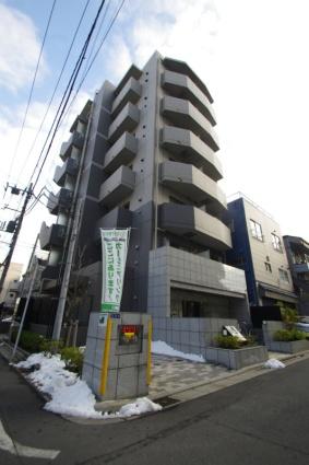 東京都江東区、清澄白河駅徒歩2分の築8年 7階建の賃貸マンション