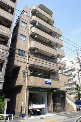 東京都江東区、門前仲町駅徒歩8分の築24年 7階建の賃貸マンション