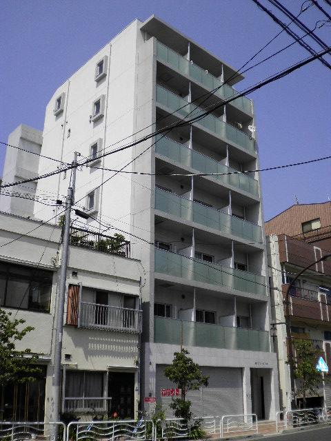 東京都江東区、清澄白河駅徒歩8分の築7年 7階建の賃貸マンション