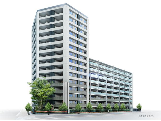 東京都江東区、門前仲町駅徒歩12分の築2年 15階建の賃貸マンション