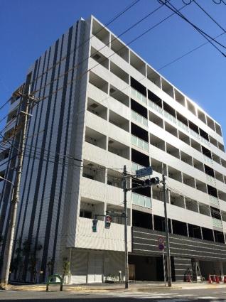 東京都江東区、森下駅徒歩4分の築2年 8階建の賃貸マンション