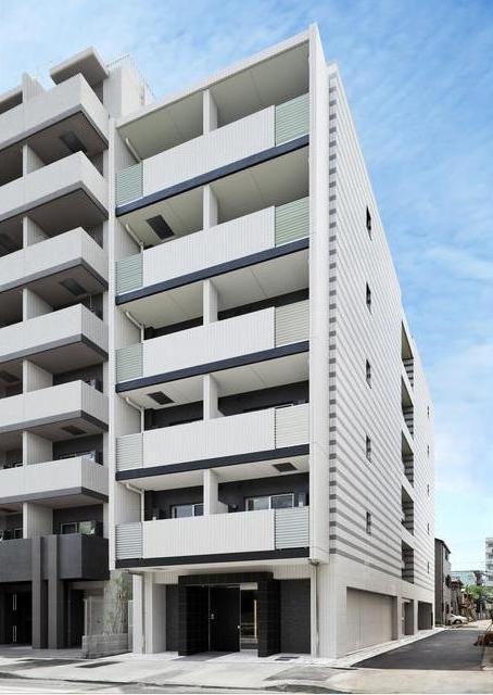 東京都江東区、清澄白河駅徒歩7分の築2年 6階建の賃貸マンション