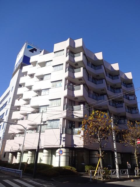 東京都墨田区、両国駅徒歩8分の築29年 7階建の賃貸マンション