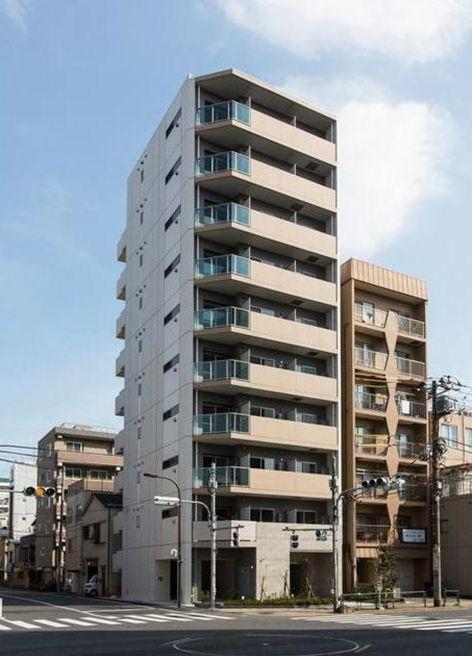 東京都墨田区、錦糸町駅徒歩13分の築1年 10階建の賃貸マンション