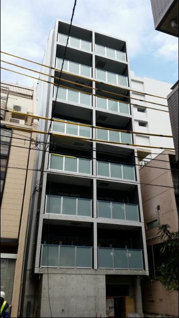 東京都墨田区、森下駅徒歩10分の新築 8階建の賃貸マンション
