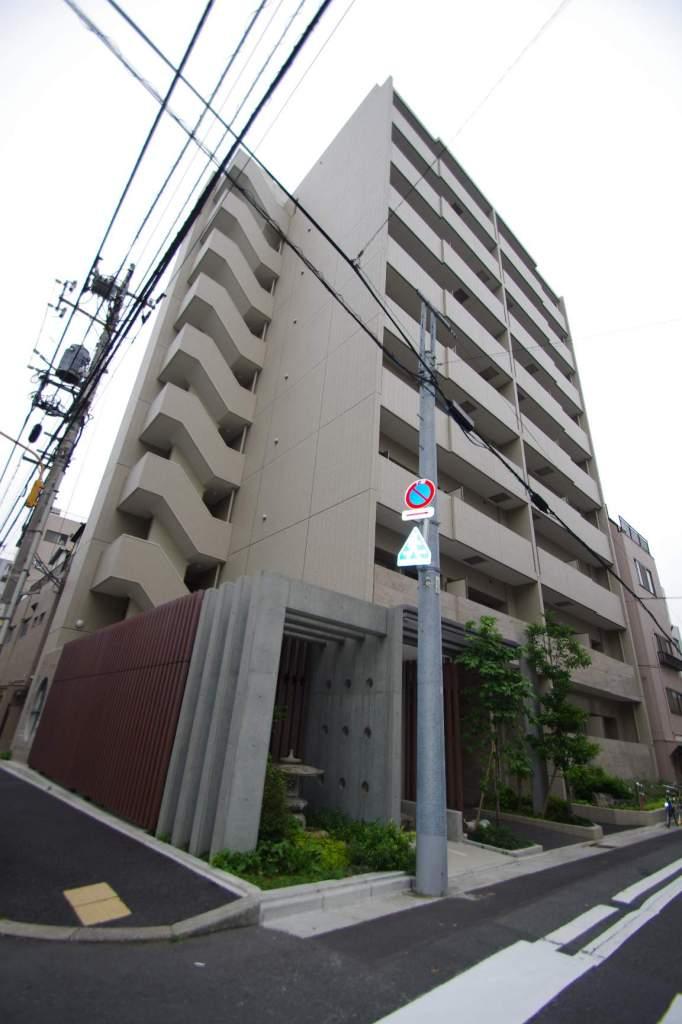 東京都墨田区、両国駅徒歩10分の築7年 9階建の賃貸マンション