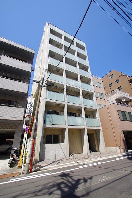 東京都江東区、両国駅徒歩9分の築8年 3階建の賃貸マンション