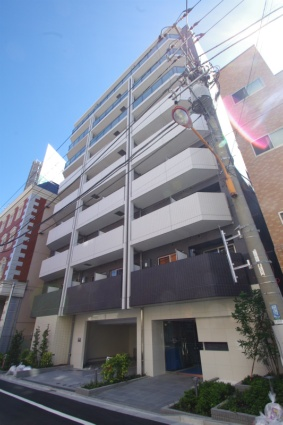 東京都墨田区、両国駅徒歩10分の築4年 9階建の賃貸マンション