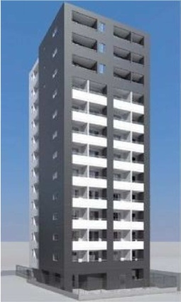 東京都墨田区、浅草橋駅徒歩9分の築4年 13階建の賃貸マンション